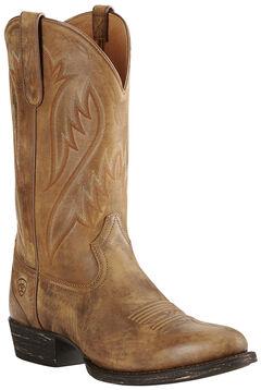 Ariat Men's Brown Cut Loose Boots - Medium Toe, Brown, hi-res
