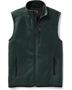 Filson Men's Forest Green Ridgeway Fleece Vest , Forest Green, hi-res