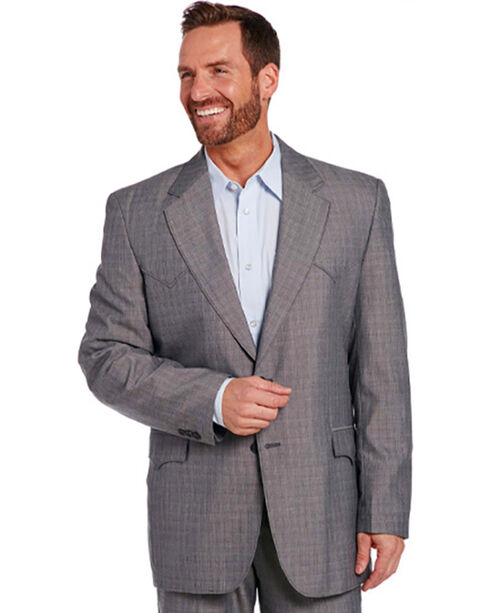 Circle S Men's Grey Houston Sportcoat - Tall, Grey, hi-res