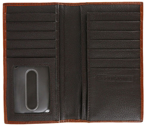 Cody James Men's Hair-on-Hide Rodeo Wallet, Brown, hi-res