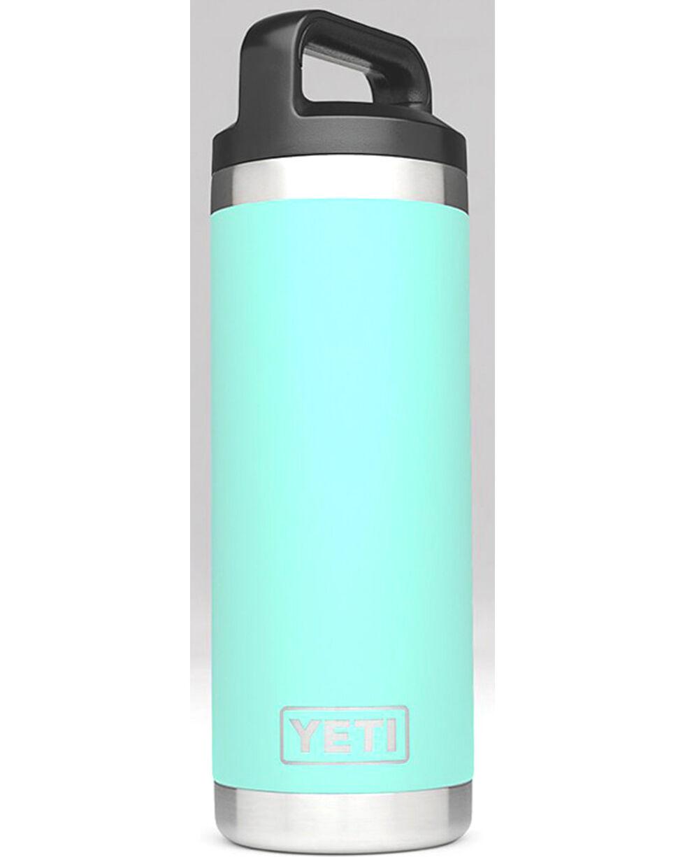 Yeti Seafoam 18 oz. Bottle Rambler , Aqua, hi-res