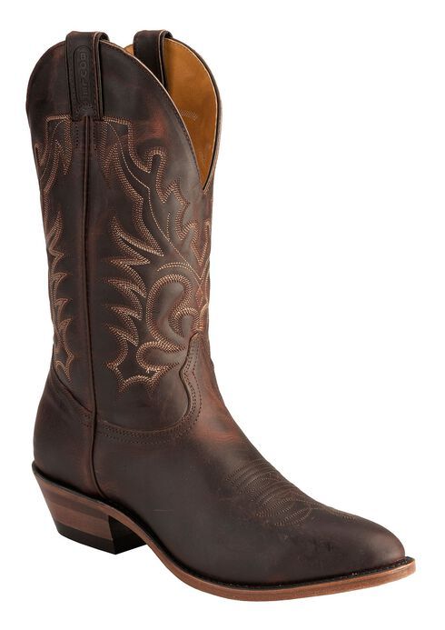 Boulet Copper Cowboy Boots - Medium Toe, Copper, hi-res