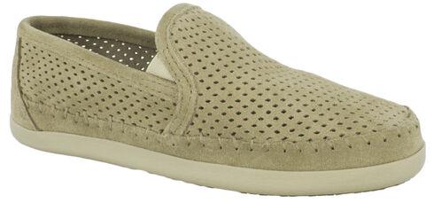 Minnetonka Women's Pacific Slip-On Shoes, Sand, hi-res