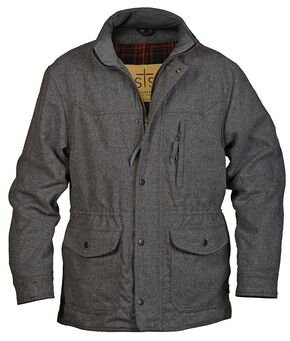 STS Ranchwear Men's Smitty Grey Barn Jacket - Big & Tall - 2XL-3XL, Grey, hi-res