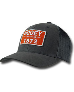 Hooey Men's Moab Patch Cap , Black, hi-res