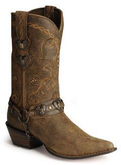 Durango Crush Heart Harness Boots, , hi-res