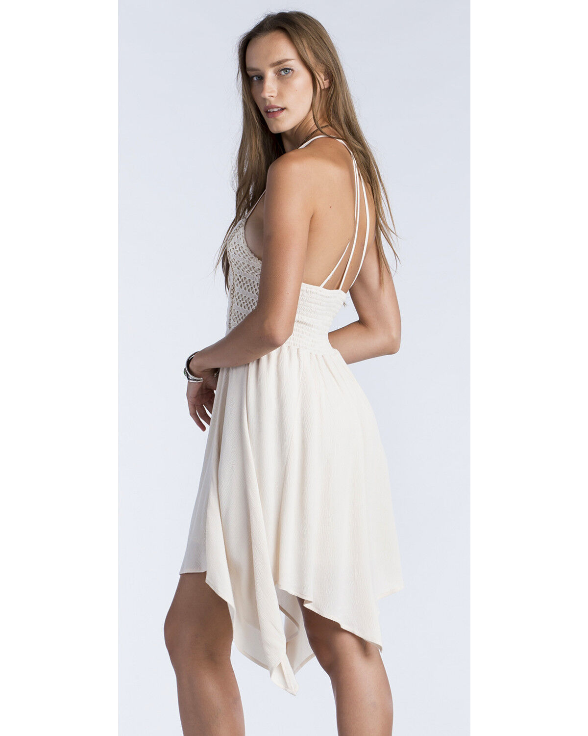 Taupe and Ivory Dresses