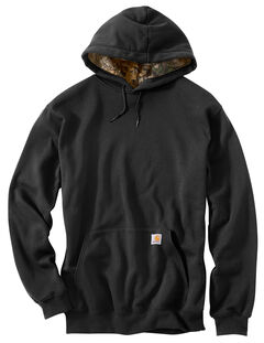 Carhartt Men's Houghton Midweight Hooded Sweatshirt, Black, hi-res
