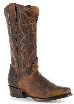 El Dorado Distressed Goat Cowboy Boots - Square Toe, , hi-res