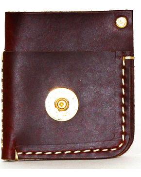 SouthLife Supply Men's Mason Brick Front Pocket Card Holder, Mahogany, hi-res