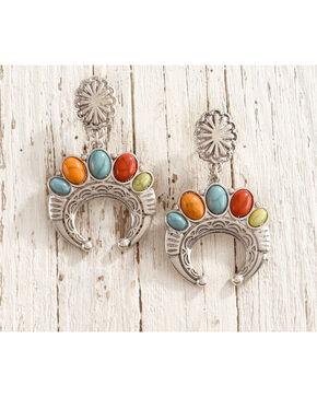 Shyanne Fiesta Squash Blossom Earrings, Multi, hi-res