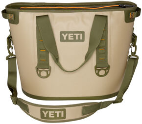 YETI Hopper 30 Soft Side Cooler, Tan, hi-res