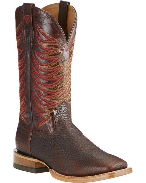 Ariat Men's Brown High Country Boots - Square Toe , Brown, hi-res