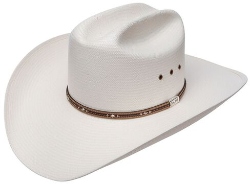 Resistol George Strait Kingman 10X Straw Cowboy Hat, Natural, hi-res