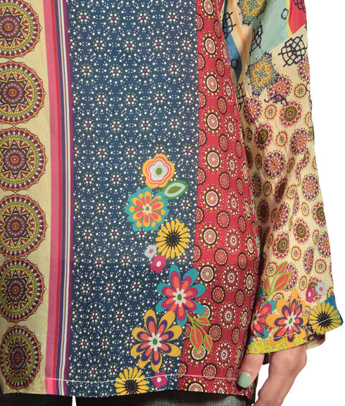 Johnny Was Women's Bali Blouse, Print, hi-res