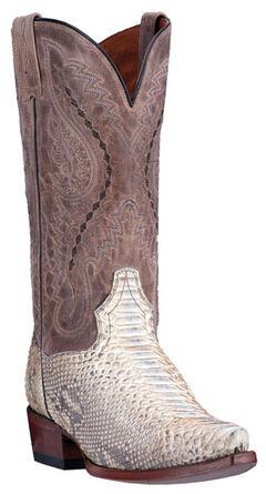 Dan Post Python Orlando Cowboy Boots - Snip Toe , , hi-res