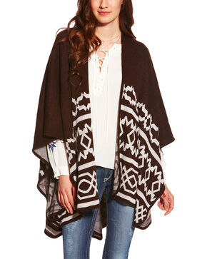 Ariat Women's Brown Mary Cape, Brown, hi-res