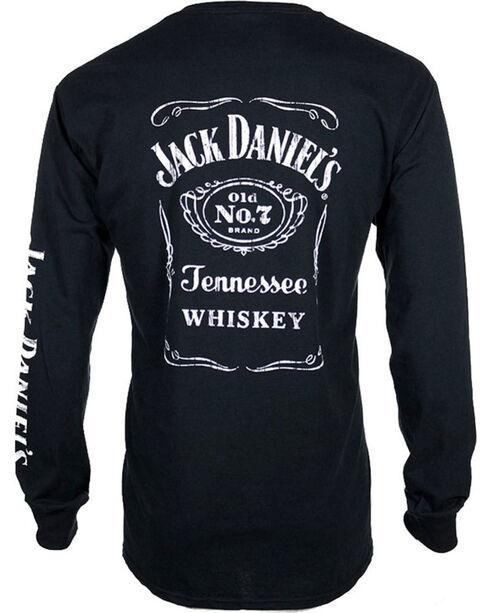 Jack Daniel's Old No.& Long Sleeve Shirt , Black, hi-res