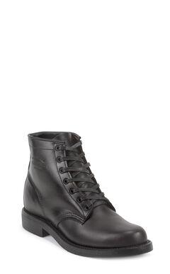 Chippewa Men's General Utility Trooper Service Boots, Black, hi-res