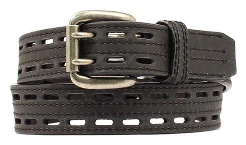 Nocona HD Xtreme Double Hole Belt - Large, Black, hi-res