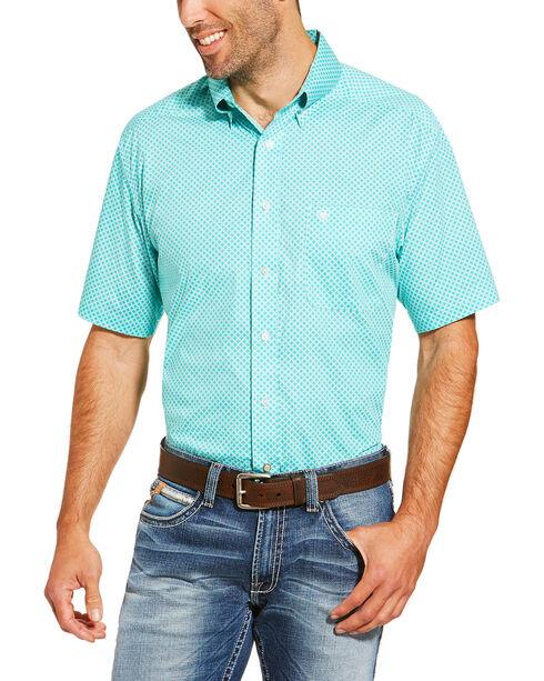 Ariat Men's Garry Short Sleeve Button Down Shirt - Tall, , hi-res