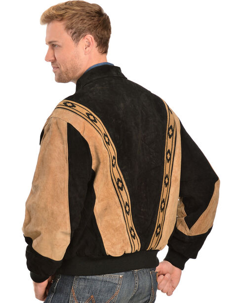 Scully Boar Suede Rodeo Jacket, Black, hi-res