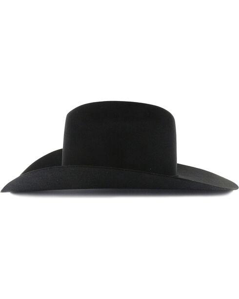 Rodeo King Rodeo 5X Felt Cowboy Hat, Black, hi-res