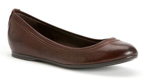Frye Women's Agnes Ballet Flats, Dark Brown, hi-res