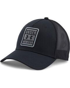 Under Armour Men's Black Tucker Low Crown Cap , Black, hi-res