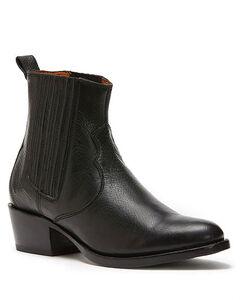 Frye Women's Black Diana Chelsea Booties - Round Toe , Black, hi-res