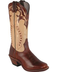 Boulet Ranch Hand Cowgirl Boots - Square Toe, , hi-res