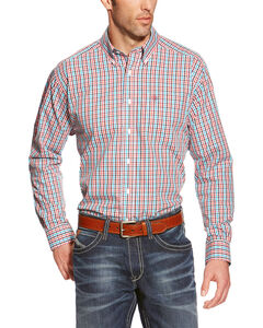 Ariat Men's Wrinkle Free Quinby Long Sleeve Shirt , Multi, hi-res
