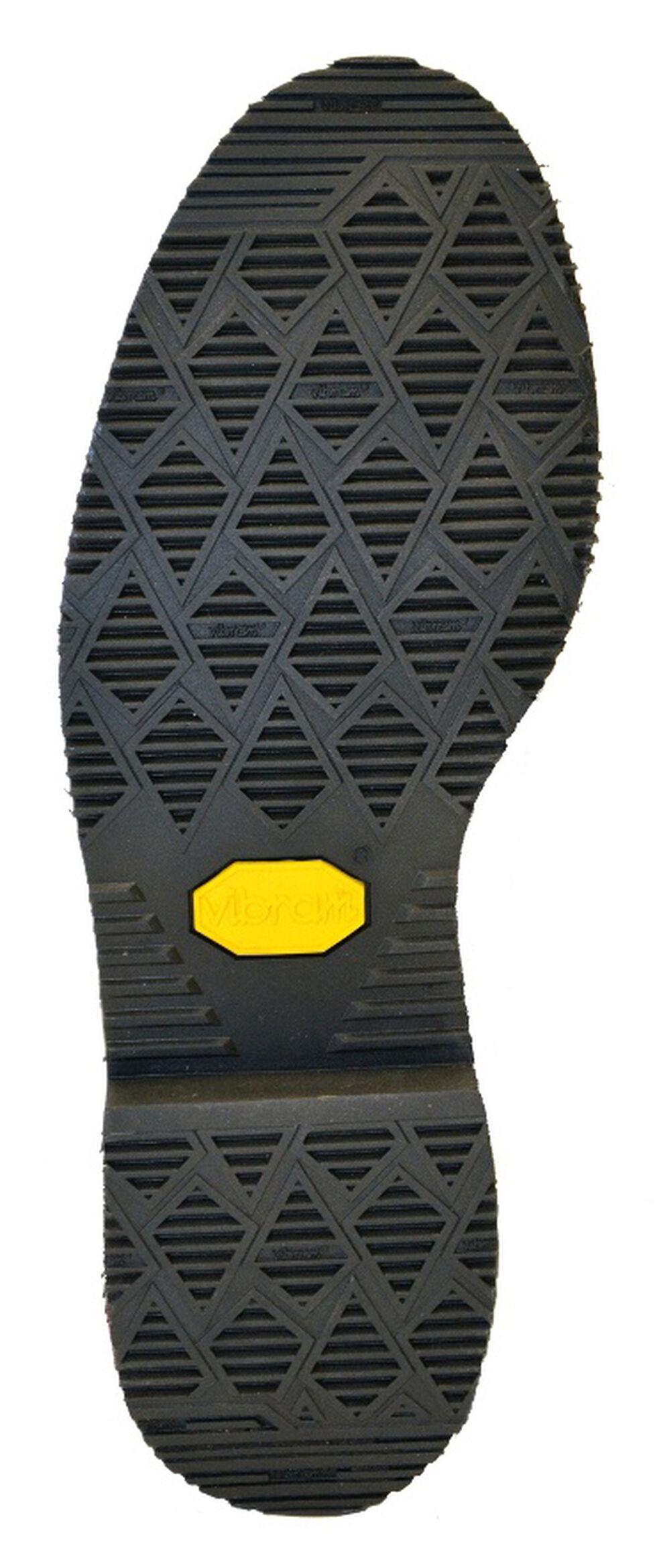 "Chippewa Men's Oiled Walnut 8"" Lace-Up Waterproof Work Boots - Steel Toe, Walnut, hi-res"