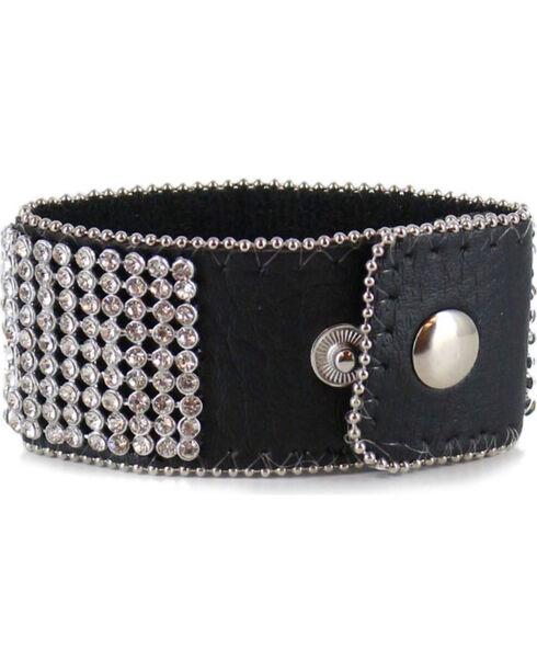 Shyanne Women's Rhinestone Cuff Bracelet, Multi, hi-res
