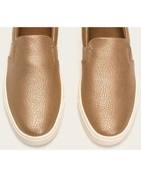 Frye Women's Gold Ivy Slip On Shoes , Gold, hi-res