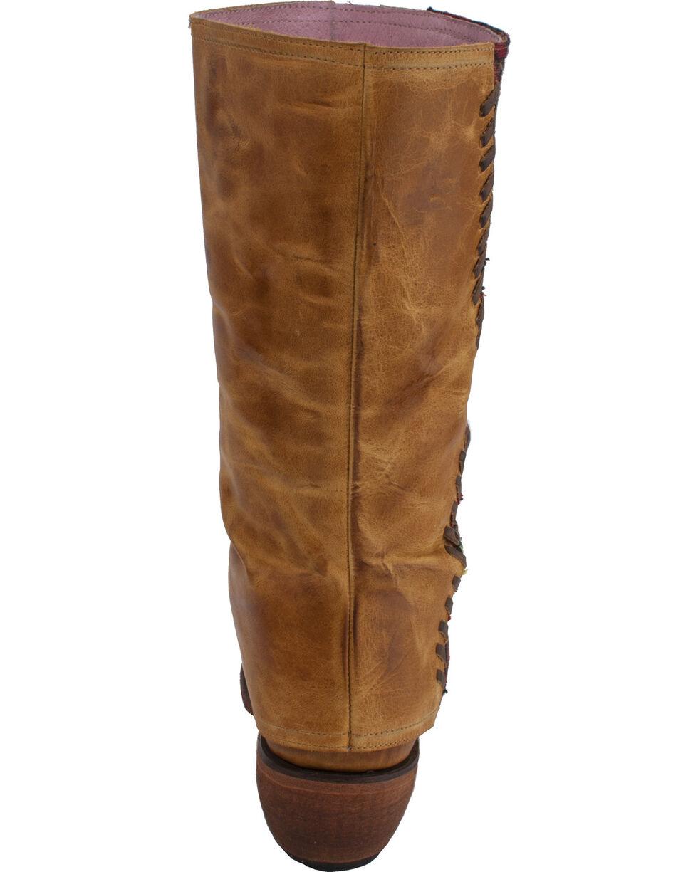 Junk Gypsy by Lane Women's The El Paso Boots - Round Toe , Tan, hi-res