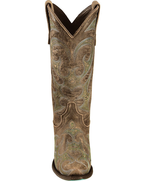 Lane Lovesick Cowgirl Boots - Snip Toe, Brown, hi-res
