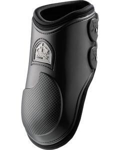 Veredus Carbon Gel Black Rear Ankle Boots, , hi-res
