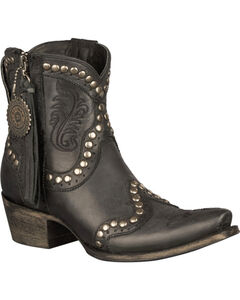Lane for Double D Ranch Garcitas Half Pint Short Boots - Snip Toe, , hi-res