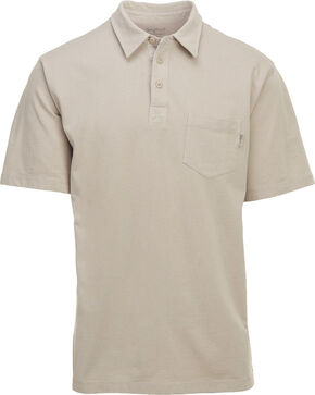 Woolrich Men's First Forks 1 Pocket Polo , Sand, hi-res