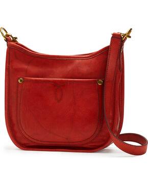 Frye Women's Campus Rivet Crossbody Bag , Brown, hi-res