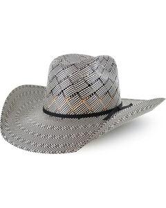Cody James Men's 50X Vented Straw Hat , Black, hi-res
