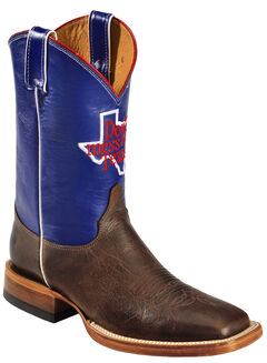 Justin Men's Don't Mess With Texas Cowboy Boots - Square Toe, , hi-res