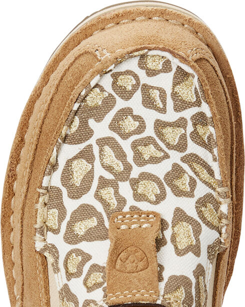 Ariat Women's Taupe Rugged West Sparklin' Leopard Cruisers , Taupe, hi-res
