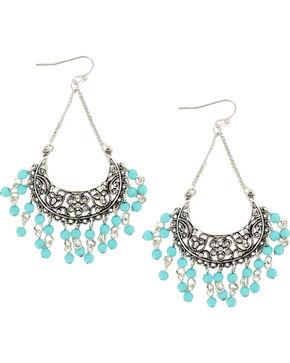 Shyanne Women's Chandelier Dangle Earrings, Turquoise, hi-res