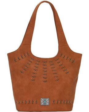 Bandana Women's Sagebrush Soft Bucket Tote , Rust Copper, hi-res