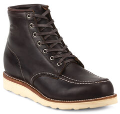 Chippewa Men's Cognac General Utility Boots - Moc Toe, , hi-res