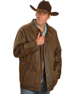 Outback Trading Co. Rancher Jacket, Brown, hi-res