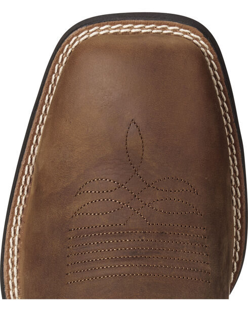 Ariat Men's Tan Sport Stonewall Western Boots - Square Toe , Tan, hi-res