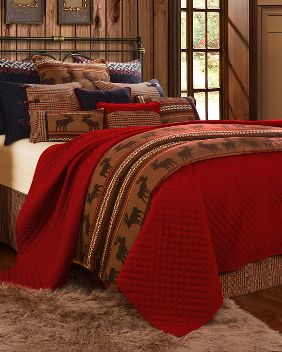 HiEnd Accents Bayfield 5-Piece Bedding Set - Full Size, Multi, hi-res